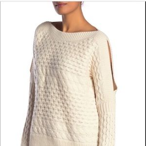 All Saints Reed Boat Neck White NWT